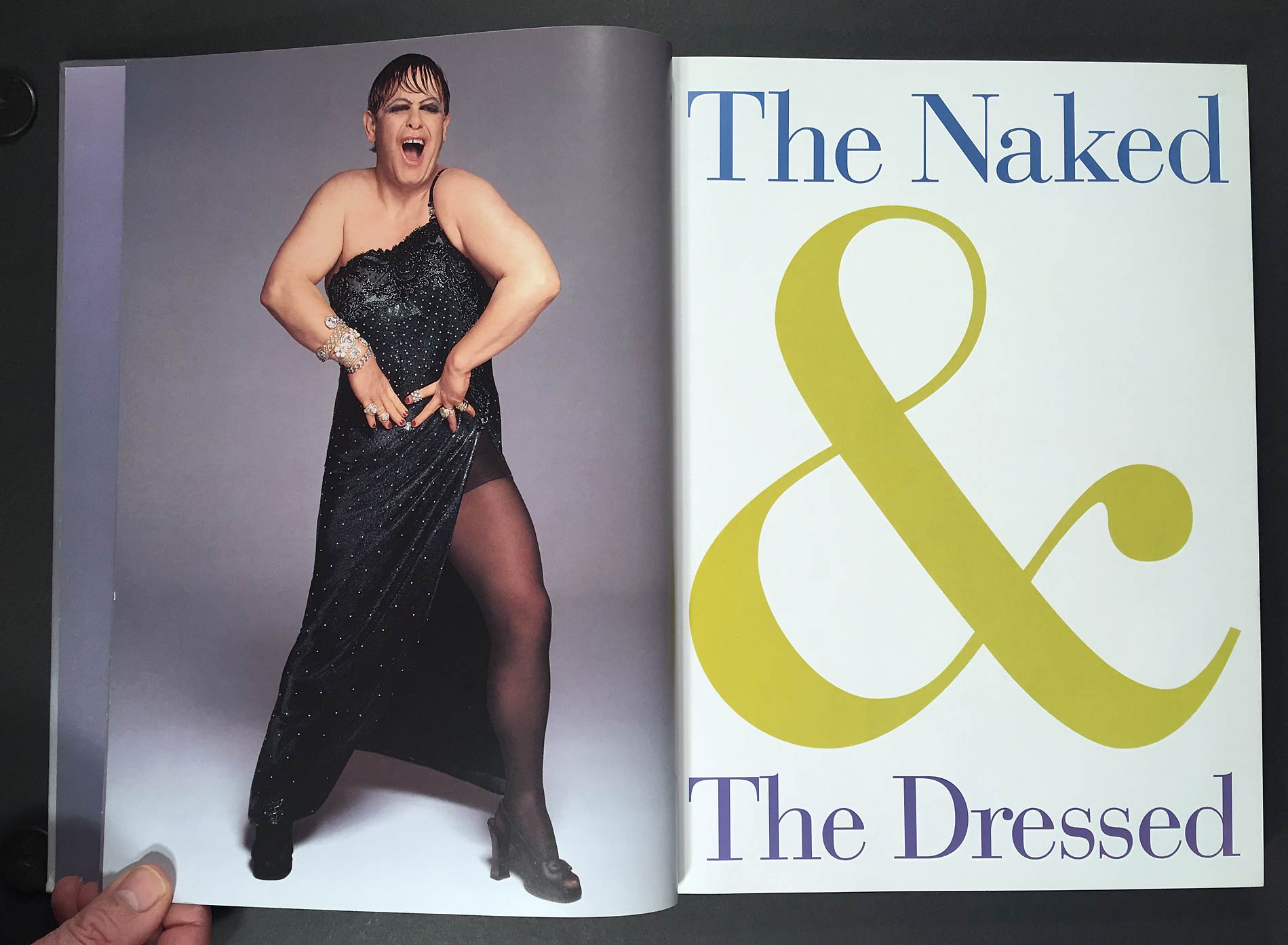 Versace: The Naked and the Dressed : 20 Years of Versace