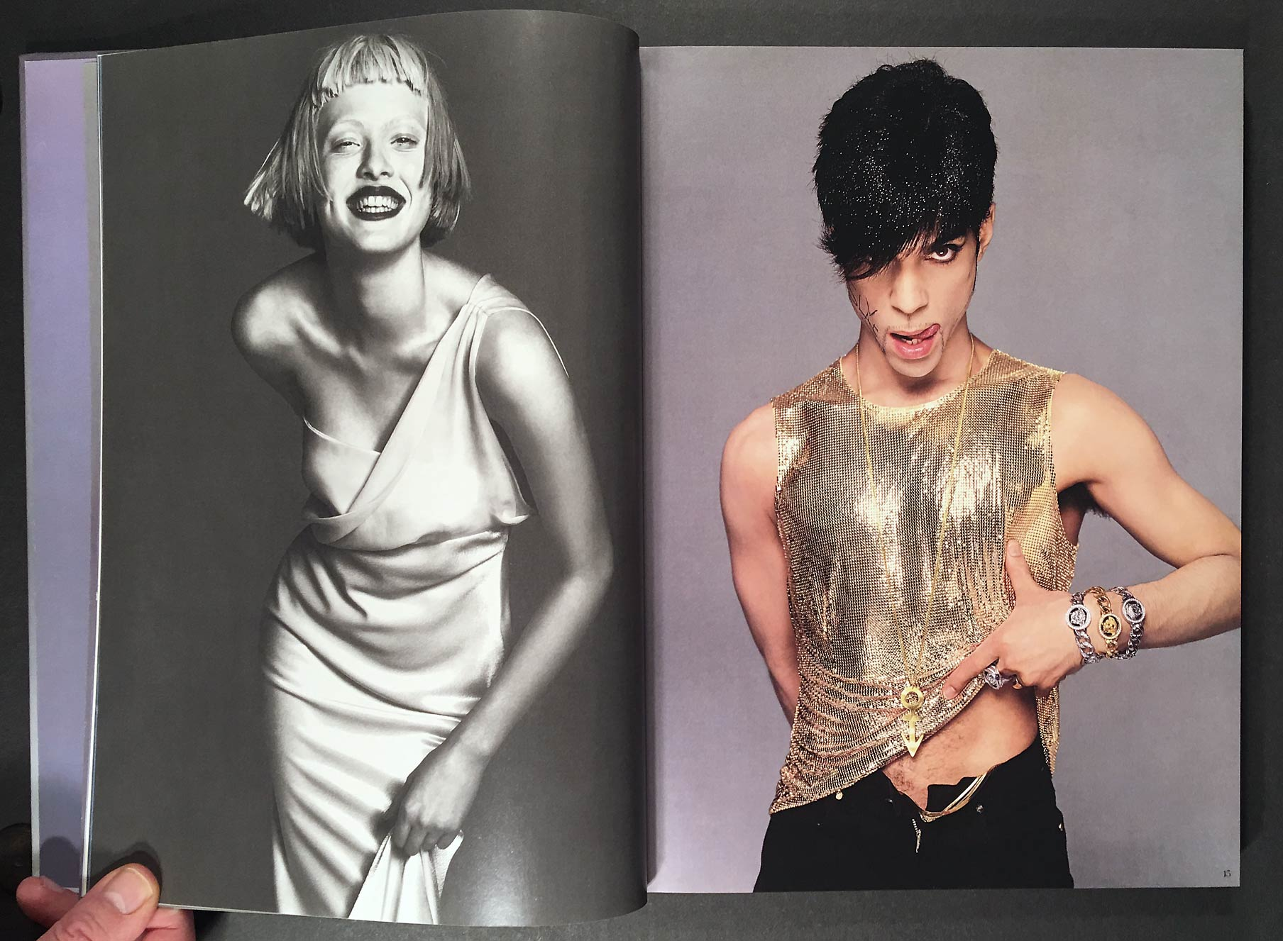 The Naked and the Dressed: 20 Years of Versace by Avedon